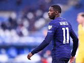 De gefaalde hoekschop van Ousmane Dembélé voor Frankrijk