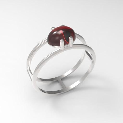 doubleloop Ring