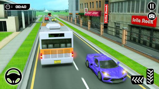 City Passenger Coach Bus Simulator screenshot 4