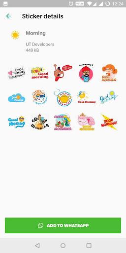 Good Morning Stickers For WhatsApp 3.3 screenshots 2