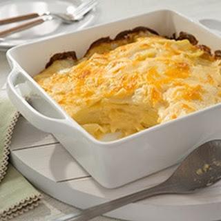 Buttery Scalloped Potatoes.