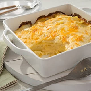 Buttery Scalloped Potatoes.