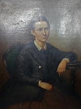 Photo: Fridricho Rericho brolio žmonos portretas, galbūt to brolio, kuris buvo N.Rericho senelis. Tapytas 19a. viduryje. (Liepojos muziejaus archyvas, LM 14539).