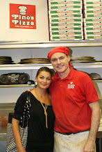 Photo: My fabulous Pizza order Expeditor Veronica Martinova has finish her 1st season with the crew. Veronica worked hard and I thank her much!!! Have fun Travelling with your man!