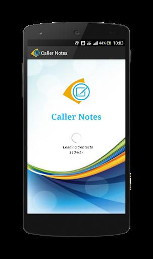 Caller Notes