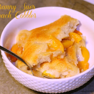 Granny Sue'S Peach Cobbler Recipe
