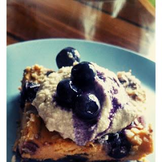 Sweet Potato, Blueberry Breakfast Bake.