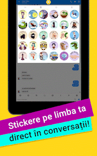 Stickchat Emoticoane, Stickere- screenshot thumbnail