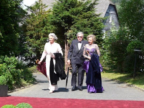 Photo: Princess Elisabeth zu Sayn-Wittgenstein-Hohenstein, Prince Peter and Princess Judith zu Sayn-Wittgenstein-Berleburg