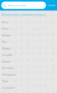 MeteoChile screenshot 2