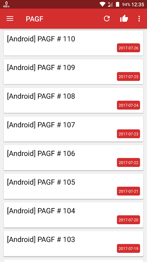 Paid Apps Gone Free - PAGF- screenshot