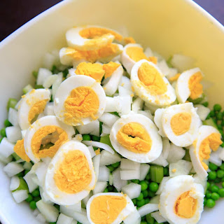 Grandma's Pea Salad with Dill.