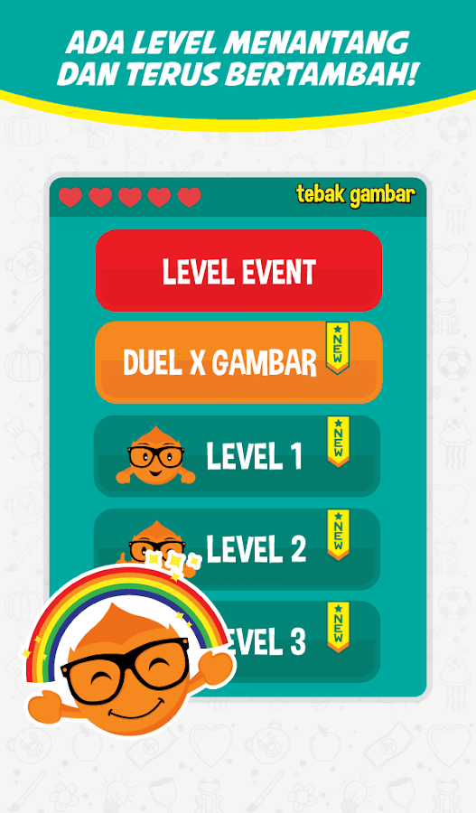 Screenshots of Tebak Gambar for iPhone