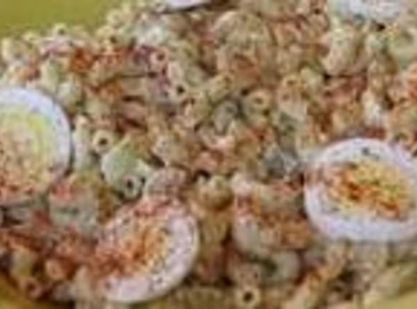 Grandma Carr's Macaroni Salad Recipe