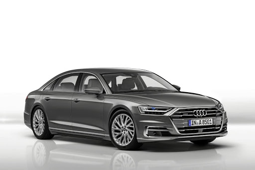 The new Audi A8, still to arrive in SA, is the World Luxury Car of the Year. Picture: NEWSPRESS UK