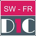 Swahili - French Dictionary & translator (Dic1) icon