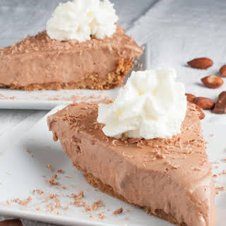 Chocolate Hershey Bar Pie.