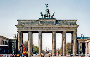 Photo: Berlijn. Brandenburger Tor.