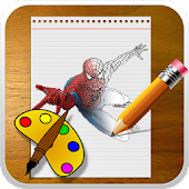 Superhero coloring Game