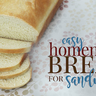 Kid-Friendly Homemade Bread for Sandwiches.