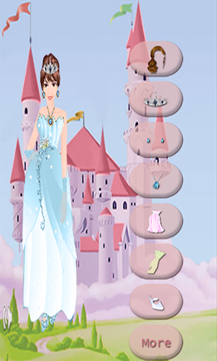 プリンセスドレスアップ