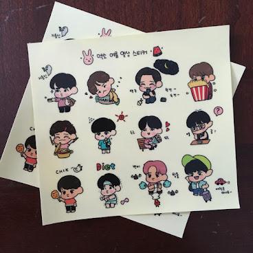 EXO貼紙