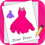 How to Draw Dresses APK icon