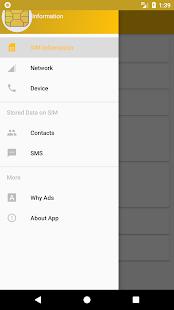 SIM Card Info Screenshot