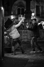 Photo: big hat...  #street #streetphotography #shootthestreet  #blackandwhite #blackandwhitephotography #bw #monochrome