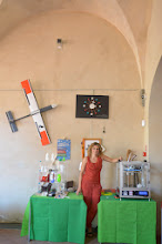 Photo: Stefano Puzzuoli SMS Lo stand della stampante 3D