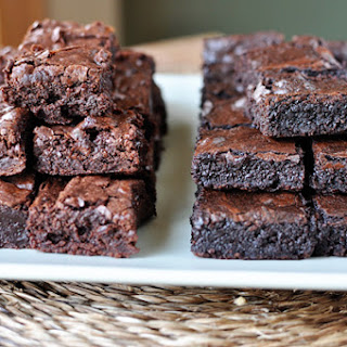 Homemade Brownies Like The Boxed Mix!}