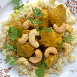 Curry Chicken and Cashews Recipe