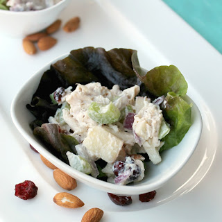 Healthy Chobani Chicken Waldorf Salad