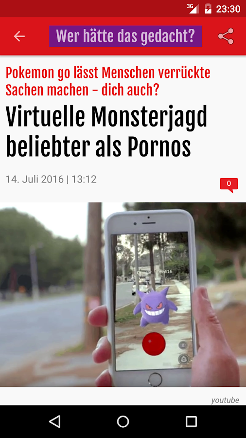 Südtirol News – Screenshot