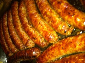 10 Minute Italian Sausage Sandwich ! Recipe