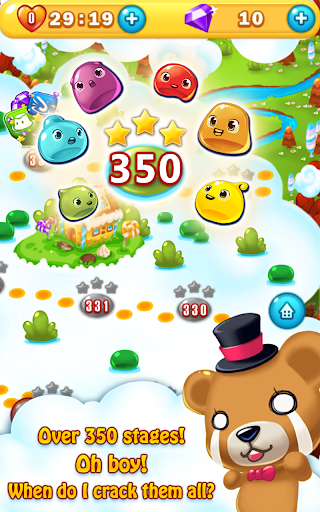 Jelly Jelly Crush - In the sky screenshots 18