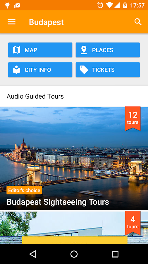 PocketGuide Audio Travel Guide - screenshot