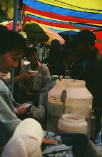 Photo: 03077/ウランバートル/風景/ダライ・エージ(海の母)/食料品専門の市場