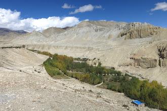 Photo: La vallée de la Tsarang khola