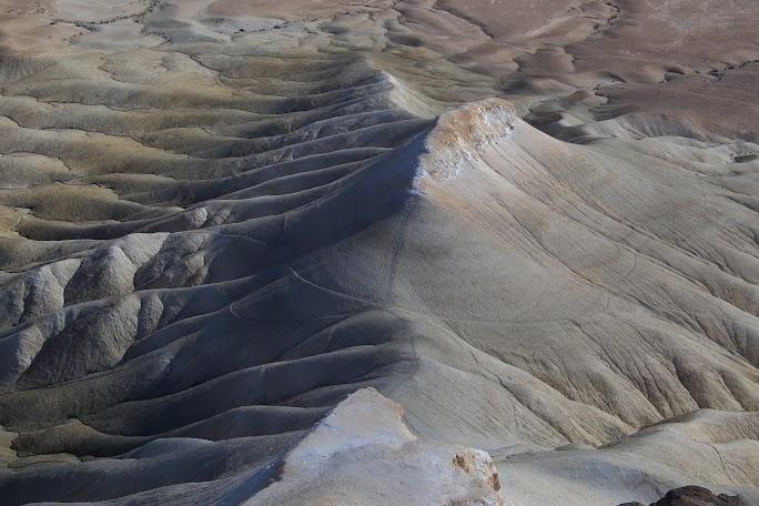 Relief de eroziune in valea Zin