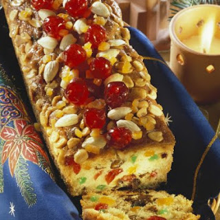 Festive Fruit and Nut Loaf.