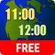 World Clock Widget - Androidアプリ