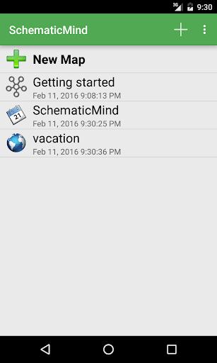 SchematicMind Free mind map screenshot 4