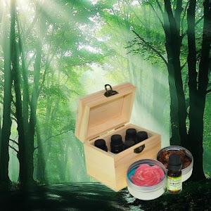 芬多精 芳香精油組(木盒裝)