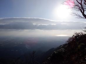 稜線からの眺め(四日市方面)