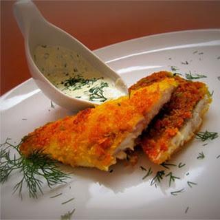 Crispy Fried Herring with Ginger Garlic Sauce
