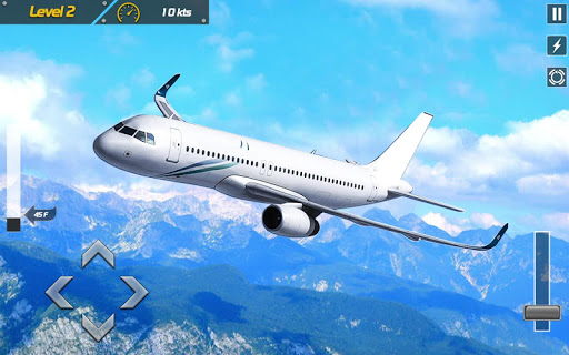 Real Plane Flight Simulator: Fly 3D Game apkpoly screenshots 2