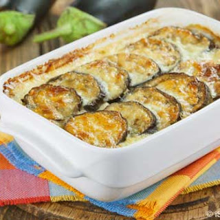 Healthy, Creamy Eggplant Moussaka