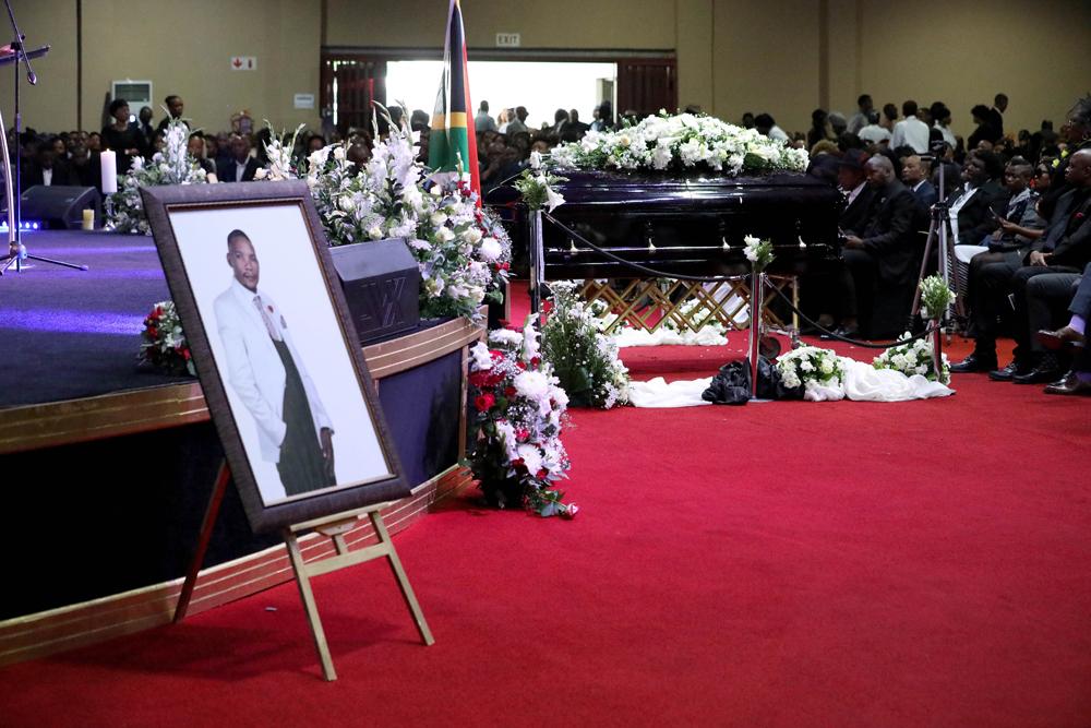 Church overflows at funeral for gospel singer Neyi Zimu - SowetanLIVE