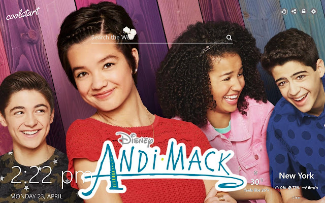 Andi Mack HD Wallpapers TV Show New Tab Theme